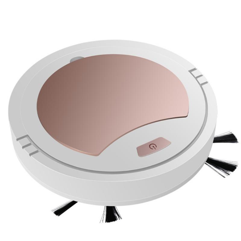 التطهير الطابق الكاسح روبوت 360 درجة دوران كهربائي مكنسة كهربائية نظافة فائقة رقيقة المنزلية USB شحن التلقائي ذكي