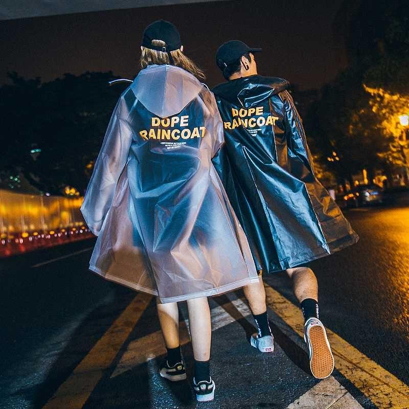 Impermeable Waterproof Cycling Raincoat Women Poncho Motorcycle Transparent Raincoat Fashion Ponchos Hombre Rainwear BA60YY