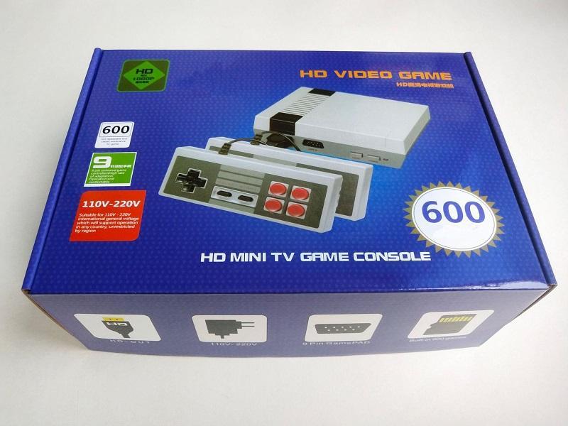HDMI TV Consola de videojuegos 2020 más nuevo de mano consolas de juegos de la niñez para 600 HD HDMI Nes Juegos Consolas regalo de Navidad Navidad de los niños
