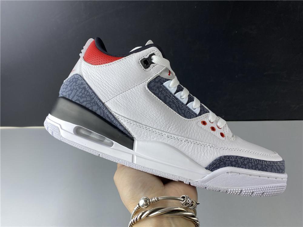 2020 Yeni Erkek 3S Basketbol Ayakkabı 3 Ateş Kırmızı Siyah Beyaz Çimento Tasarımcı Lüks Eğitmenler Spor Ayakkabıları Spor Üst Kalite Sneakers ile Kutusu
