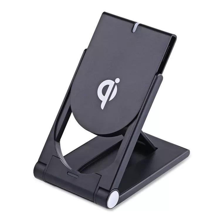 Регулируемая подставка для Iphone Примечания X S10 зарядки Wireless Для беспроводной Q11 11 Й S9 8 зарядного устройства держателя складного телефона Samsung S8 Dock Pad bbykl