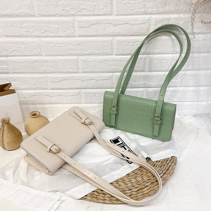 Jugend Damen Einfache Versatile-Beutel-Frauen-große Kapazitäts-Schultertasche Leder tägliche Zweiteiler Weibliche Clutch Handtaschen