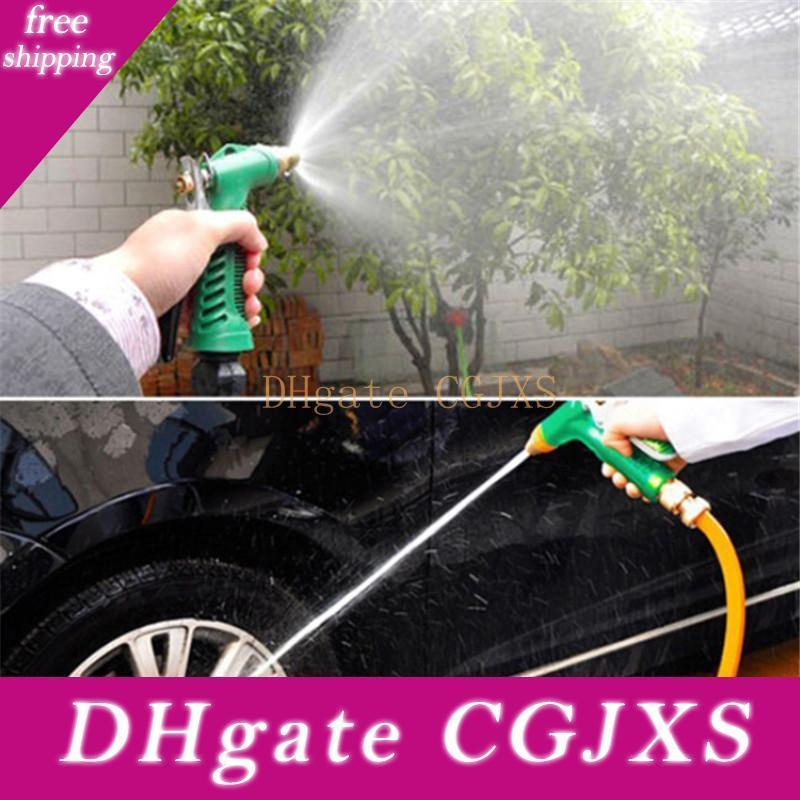 New Copper Adjustable High Pressure Car Washing Water Gun Head Garden Household Washing Cleaning Machine Tool Accessories