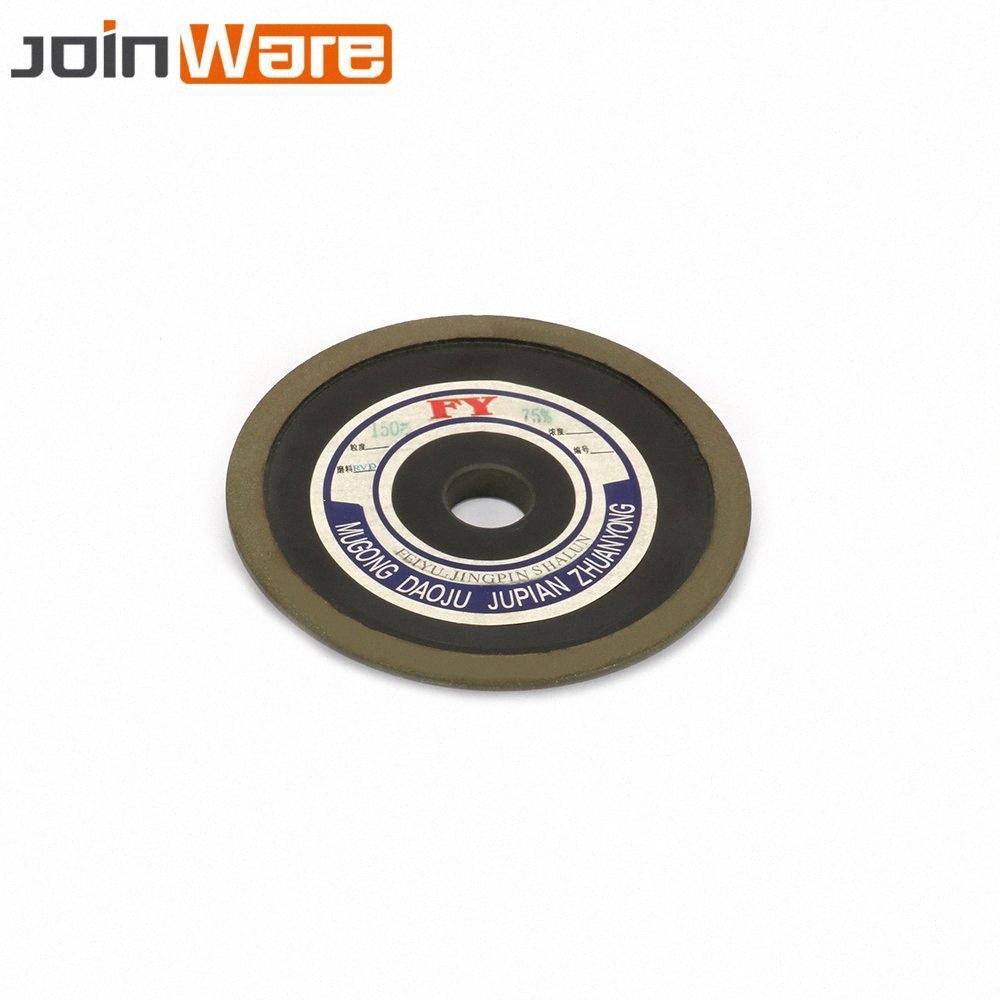 125MM бакелитовой смолы алмазный шлифовальный диск Rotary Абразивный инструмент Карбид Металл Сталь 150/200 # 25MM / 32MM Диаметр цилиндра 10 мм Толщина SxDK #