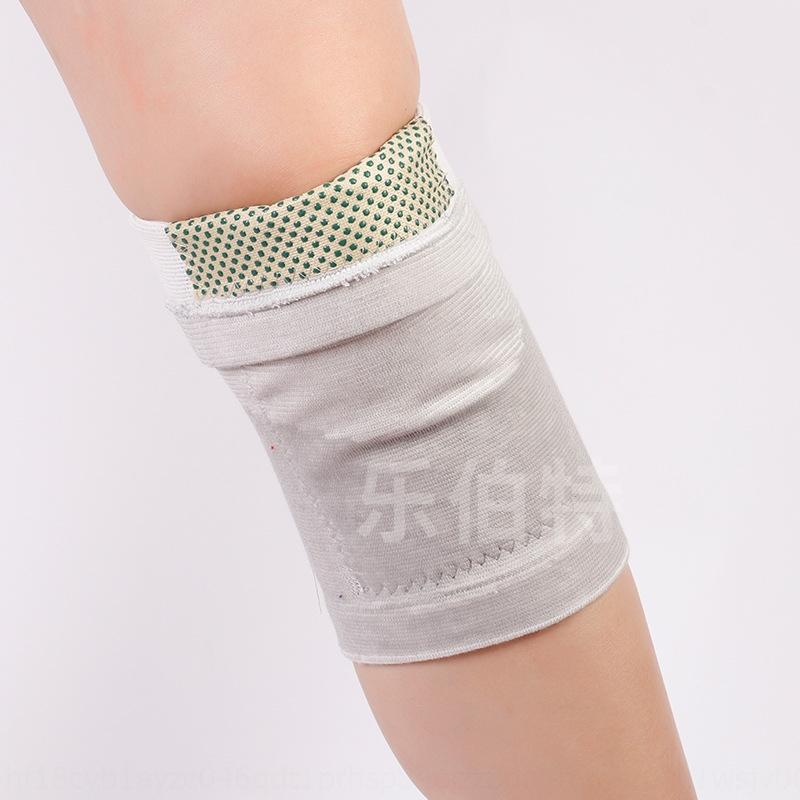 L'autunno e l'inverno caldo ginocchio pad tormalina punto rivestimento di bambù ginocchiera sport, tenere al caldo lontano infrarosso auto-riscaldamento