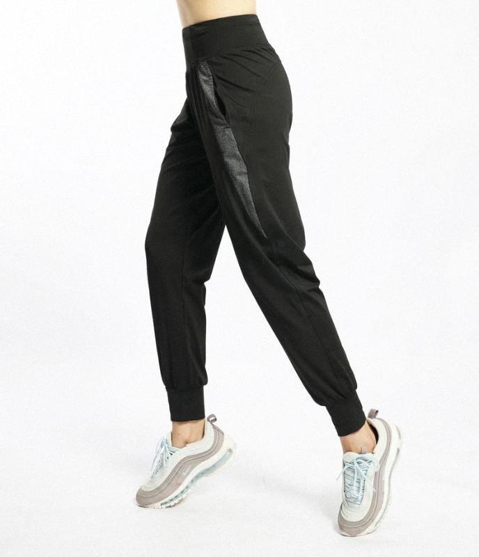 W Quick Dry Plus Size 4XL Sports Pants Women Joggers Elastic Waist Training Jogging Trousers Female Exercise Sports Pants Yoga fvJC#