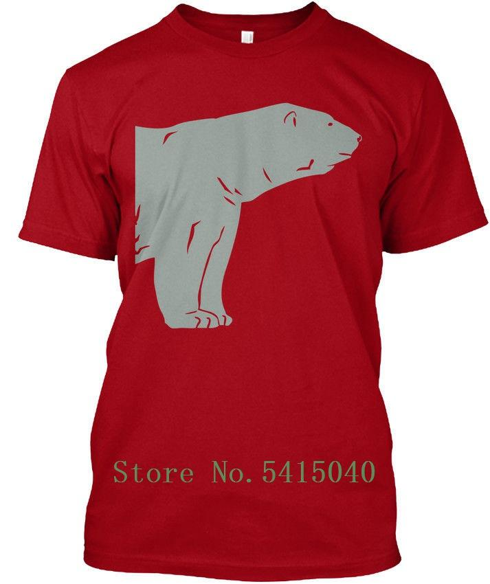 Polar Bear S 6 Comic Tagless Tee T-Shirt Customized T Shirt For Mens Cool T-Shirt Fashionable Short Sleeved Men's Tshirt Homme