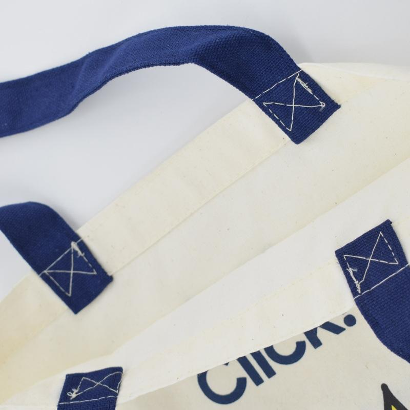 xfrNi Moda Alışveriş taşınabilir reklam yazdırılabilir polyester Moda Alışveriş pamuk taşınabilir Tuval tuval reklam çanta yazdırılabilir pol