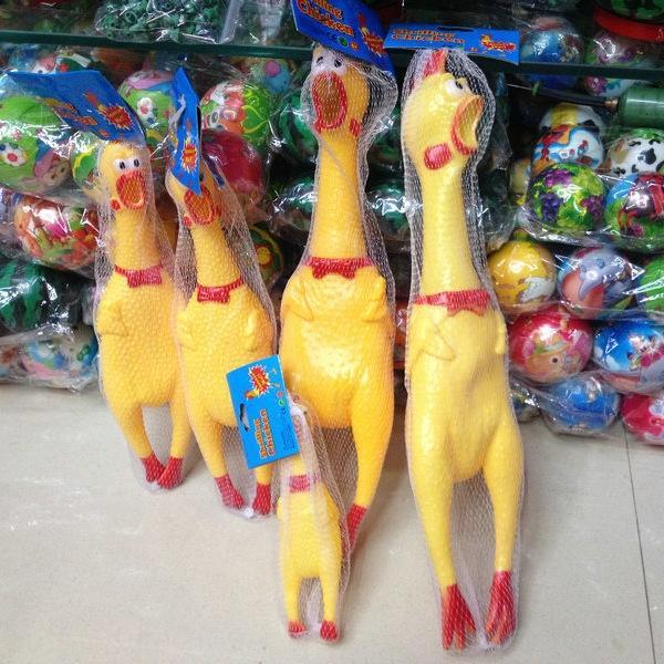 Hot-vente de jouets truc drôle poulet créatif jouet hurler Toy Temple Juste Jouets poulet crier