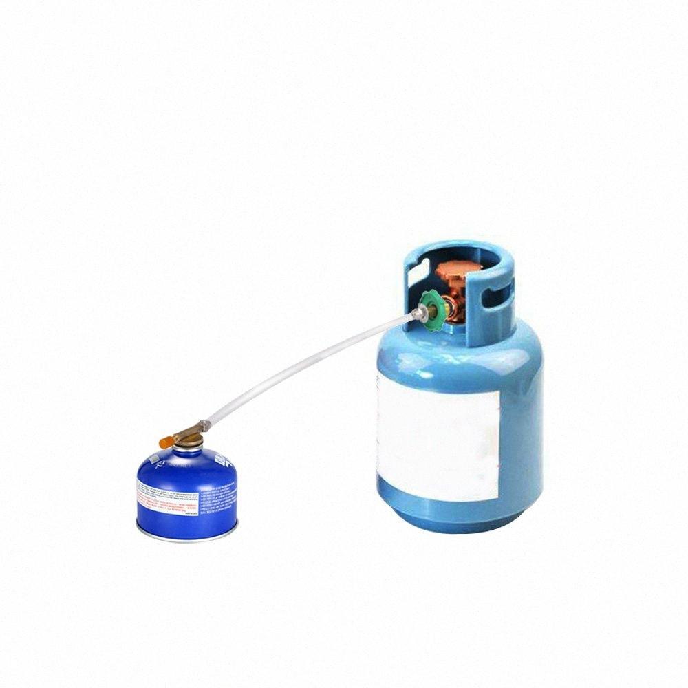 Открытый Кемпинг Газовая плита Пропан Запасной адаптер Плоский цилиндр Tank ответвитель Bottle Adapter Газ зарядный Туризм и кемпинг Кемпинг H 9R54 #