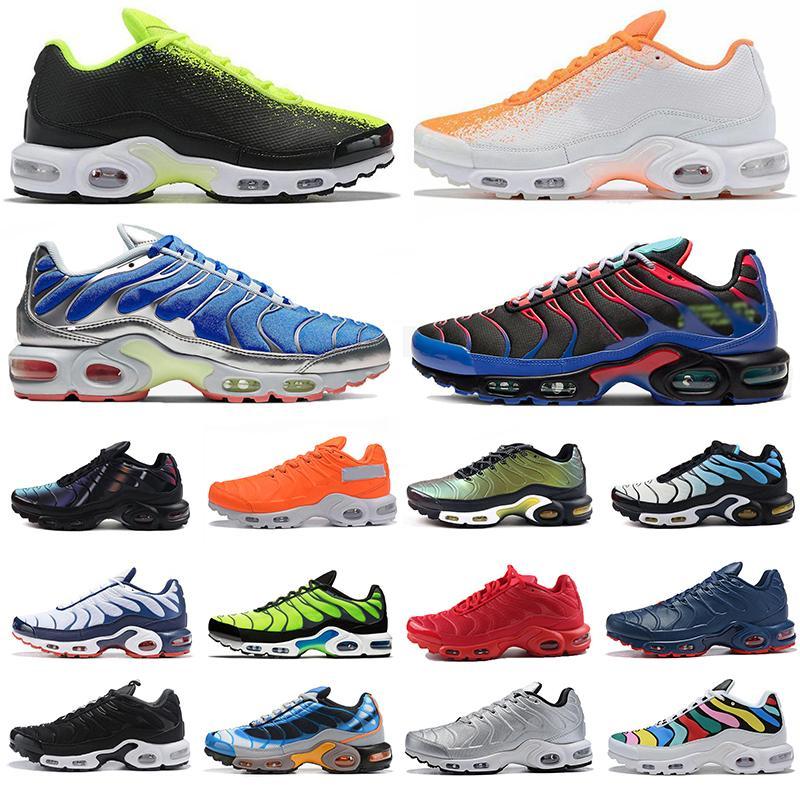 TN Plus Se Appena Tn Plus SE scarpe da corsa tripla nero bianco Olimpiadi Hyper Blu totale Crimson Deluxe mens scarpe da ginnastica formatori sportivi