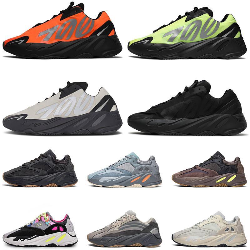 2020 Vanta ósea estática púrpura mujeres para hombre de los zapatos corrientes El diseñador de moda Fósforo Naranja Negro Triple Kanye West tamaño de las zapatillas de deporte 36-45 Formadores