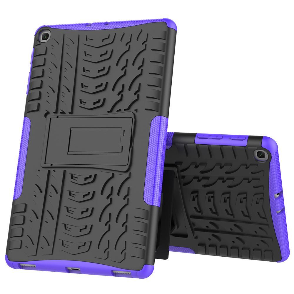 Robuste hybrider Fall Rüstung Anti-Schock-Abdeckung für Samsung Galaxy Tab 10.1 A 2019 Fall T510 T515 SM-T510 SM-T515 Kamera-Tablets