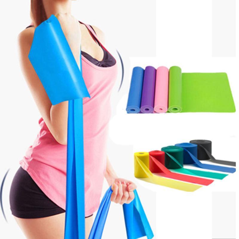 Yoga Training bande élastique Fitness longue bandes de résistance Expander Pull corde Sangle stretching Elastiques d'entraînement Ceinture pour le sport