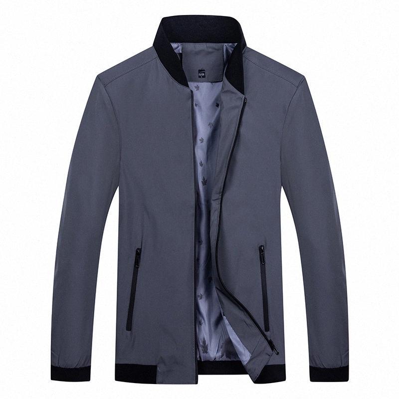 Chaquetas ocasionales de los hombres de la chaqueta 2020 otoño invierno Nuevos productos para hombre ligera vertical de negocios envejecido medio de papá prendas de vestir exteriores # c4q2