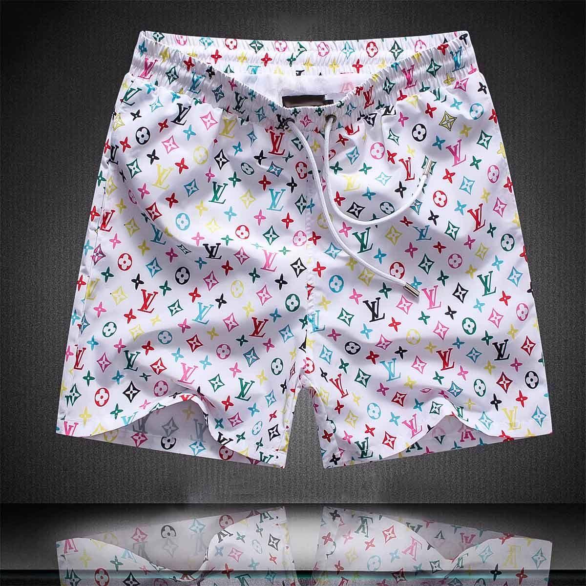 19SS Designerart Wasserdichtes Gewebe Runway Hose Sommer-Strand-Hosen der Männer Boardshorts Männer Surf Shorts Badehose Sport Shorts