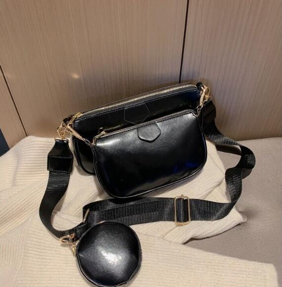 3 Piece Women Shoulder Bags New Fashion Composite Bag High Quality Handbags More Collocation