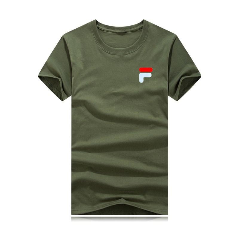2020 camisetas de los hombres del verano nuevos algodón de manga corta de los hombres respirables de las mujeres ocasionales al aire libre Streetwear Camisetas