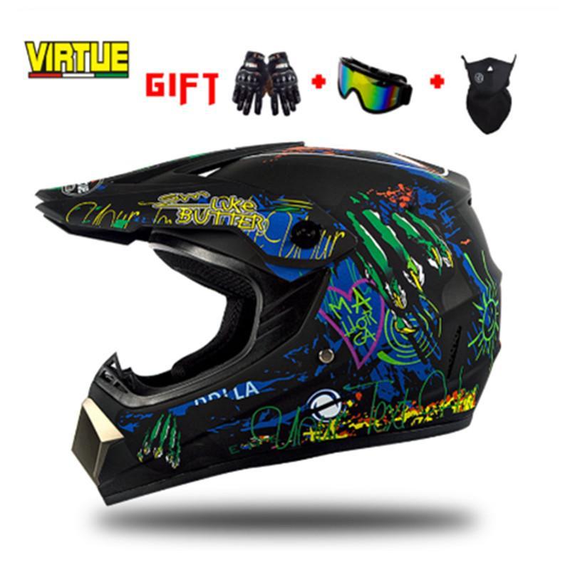 Мотоциклетные шлемы для взрослых мотокросс от дорожный шлем ATV Dirt Bike Downhill DH Racing Cross Capacetes