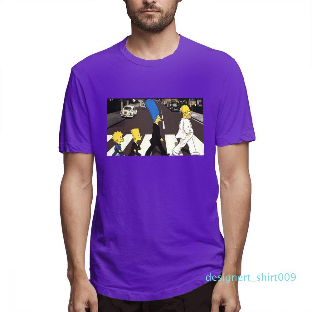 Cotton Os Simpsons desenhador de moda camisas camisas das mulheres dos homens de manga curta Camisa O c3506d09 Simpsons Impresso camisetas Causal