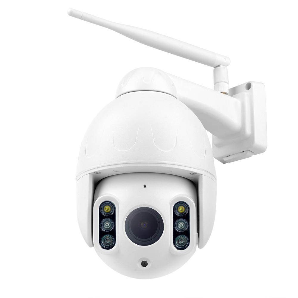كاميرا K64A 16X زووم واي فاي 1080P PTZ كاميرا IP الوجه السيارات تتبع IP66 للماء في الهواء الطلق كشف الحركة للرؤية الليلية IR 50M الأمن