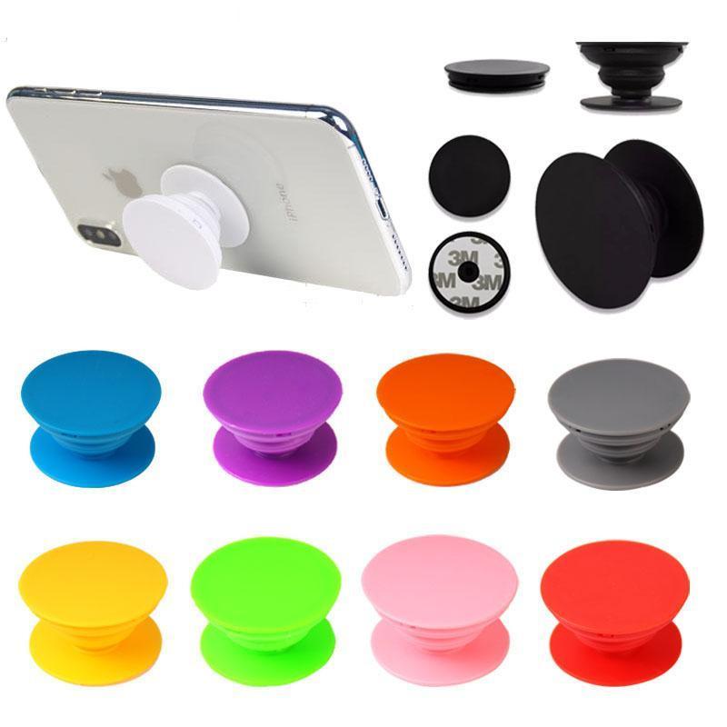 2020 Universal-Handy-Halter echter 3m-Kleber expandierbarer Griffständer 360 Grad Fingerhalter Flexibel für iPhone Samsung