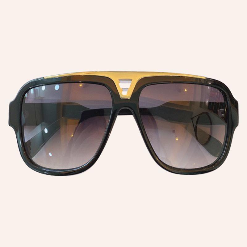 Lunettes de soleil surdimensionné Goggle Femmes 2020 Retro Marque Lunettes de soleil Femme Oculos De Sol extérieur Protection UV400