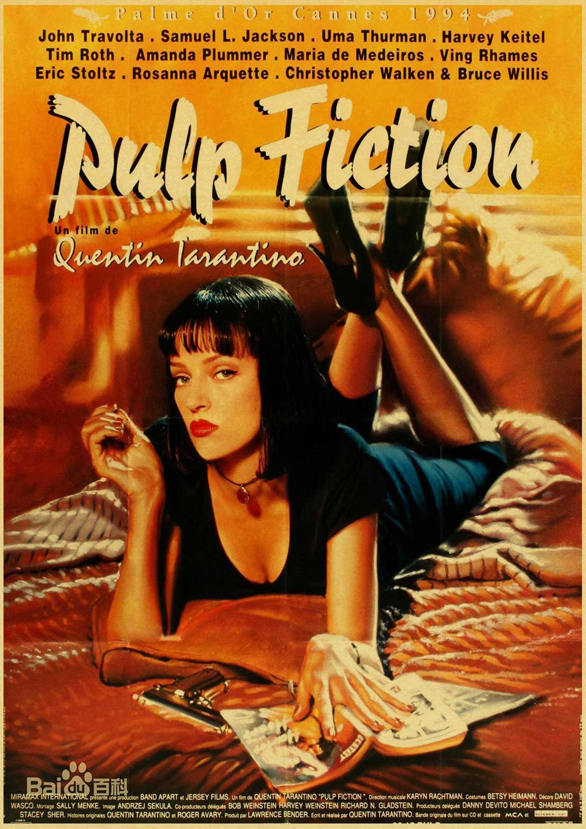 Großhandel Vintage Poster Klassiker Film Pulp Fiction / Kill Bill ...