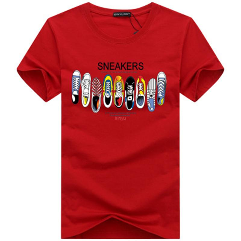 Tshirt Mens magliette superiore nuovo modo di marea calza Stampato Uomini maglietta T-shirt T-Shirts Uomo maglietta multipla di colore S-5XL0