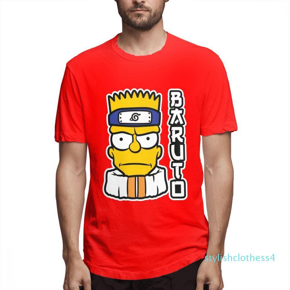 Verão Tops O Designer Simpsons Moda camisas camisas das mulheres dos homens de mangas curtas shirt O c3410s04 Simpsons Impresso camisetas Causal