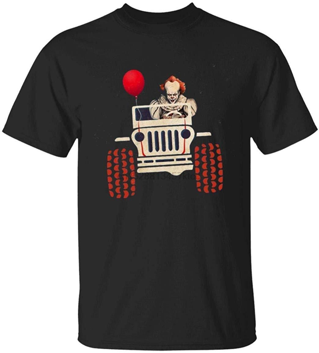 Pennywise Eles todos flutuador camiseta Homens Mulheres Camiseta Impresso Digital