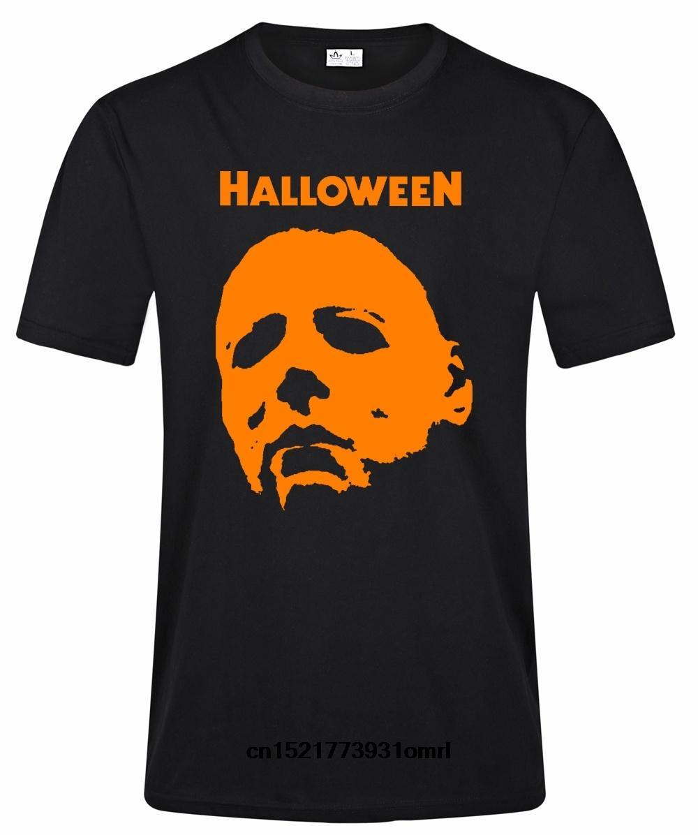 Men t shirt Michael Myers Halloween Graphic Printed Fashion Short Black Tops Tee Shirts t-shirt women