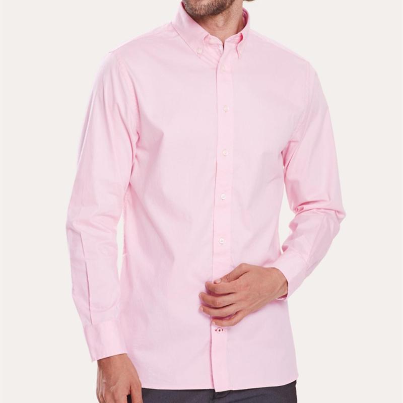 homme del coccodrillo di alta qualità 100% cotone spesso camisa Masculina Uomini abito a maniche lunghe camicie hombre-shirt di moda