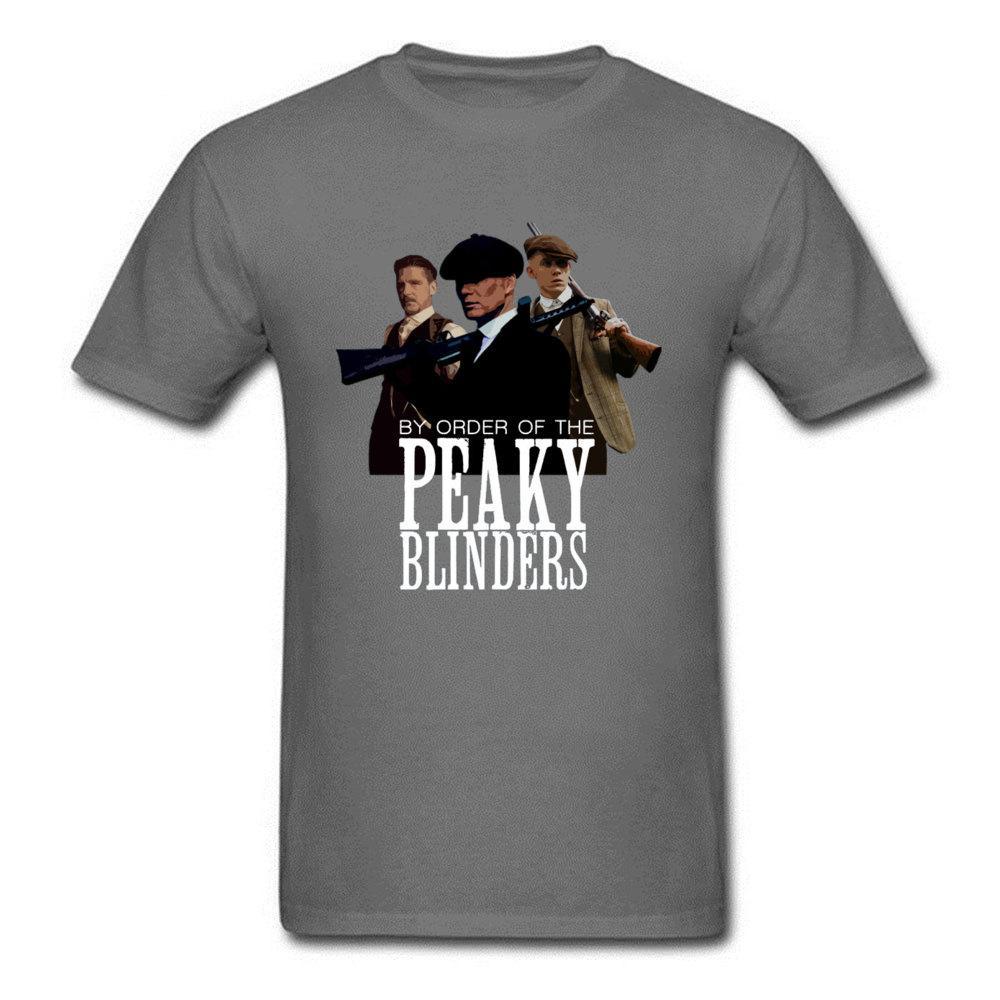 Groupes Hommes T shirt Europe Gangster T-shirt PAR ORDRE DU Peaky BLINDERS 2020 Imprimé Rétro TV Character Tops T-shirts T-shirts