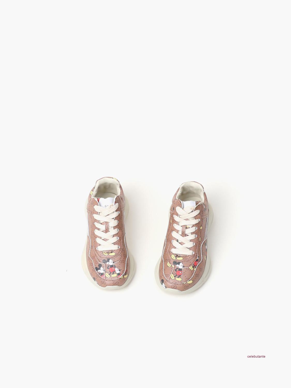 Novo padrão de Moda Unissex Crianças Lazer impressão Sport Shoes crianças