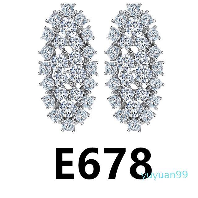 lusso- 678-E685 più nuove donne di goccia classico orecchini per le donne ragazza Vintage