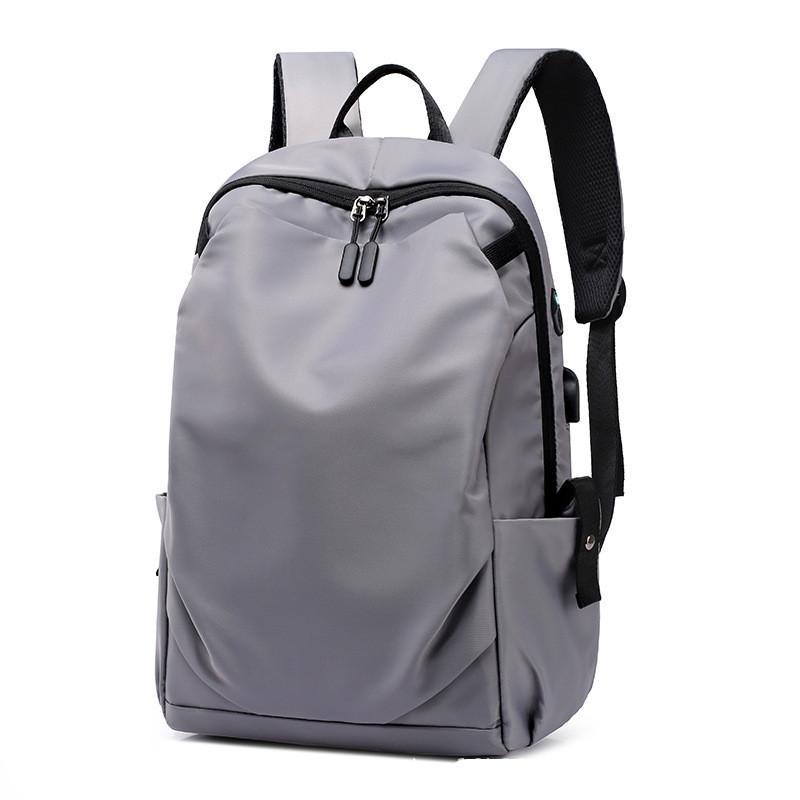 Kalite Moda Günlük Çanta Trend Kişilik Sırt Çantası Bilgisayar Çantası Sırt Çantası USB Şarj Su geçirmez Açık Sırt Çantası Seyahat Çantası