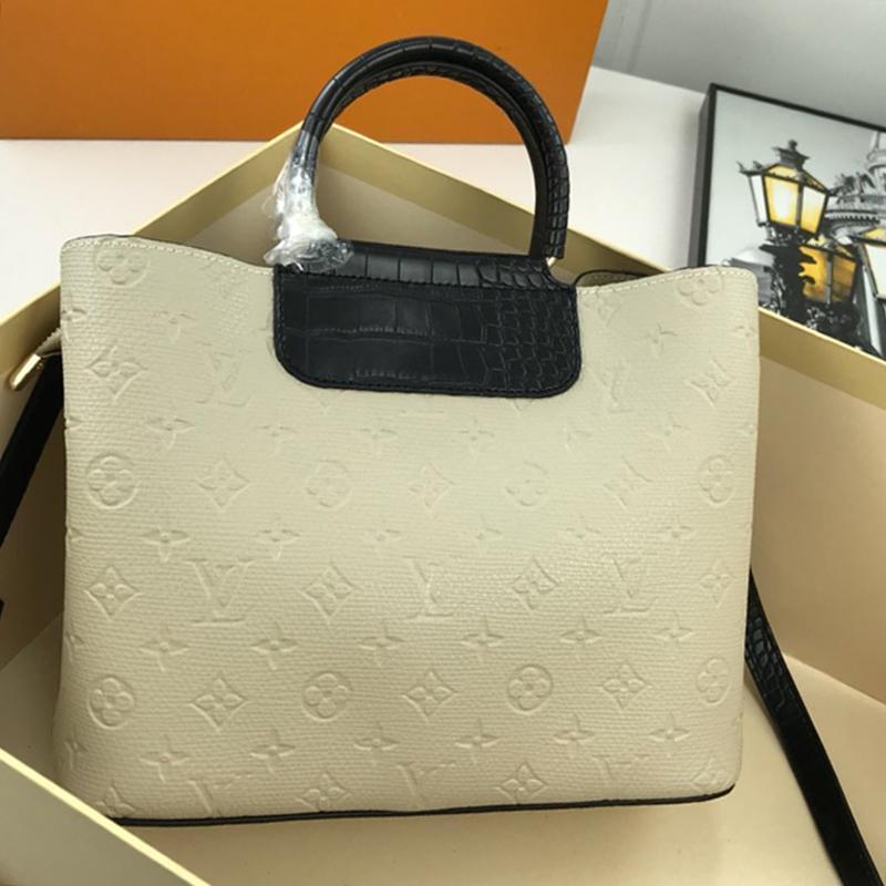 Nuovo nuovo arrivo delle donne del sacchetto signore della chiusura lampo di alta qualità Tracolla Totes stile semplice in pelle Vintage Designer Borse Crossbody con la scatola Origin