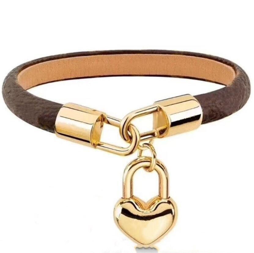 Braccialetti di moda per braccialetti donna o uomo Braccialetto di cuoio di alta qualità per il braccialetto delle coppie Fornitura dei monili di alta qualità