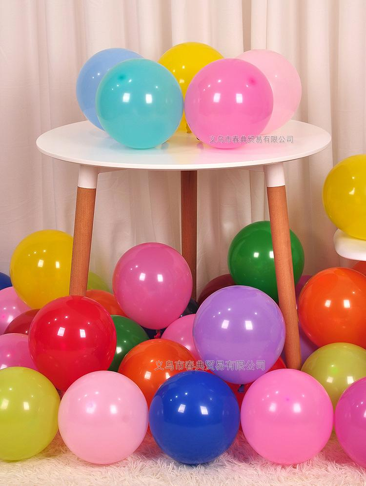 10inch Colorful Latex Ballon Balony Birthday Party Decorations Girl Boy Baby Shower Wedding Balloons