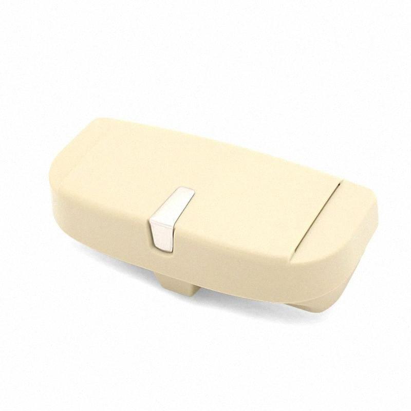 Glas-Kasten-Halter-Klipp für Auto-Sonnenblende, Eye-Sonnenbrille Organizer Montage mit Ticket-Karte Clip Anwenden auf all Auto-Modell Oxcm #