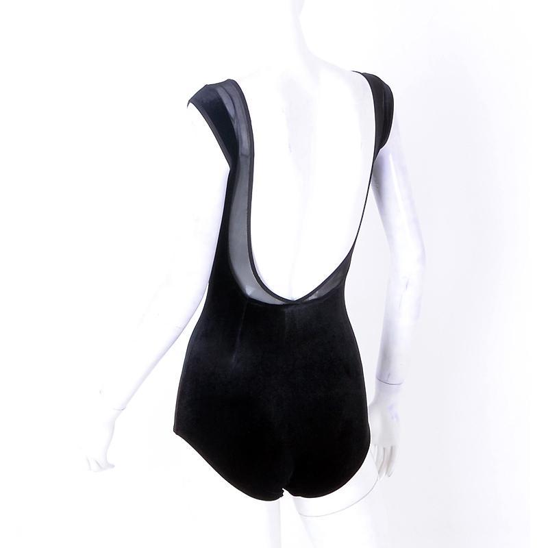 Donne Mesh latina sexy del costume di ballo Latino Per Practice Top Salsa Dance Body sala da ballo di tango Valzer Sumba Outfits JL1109