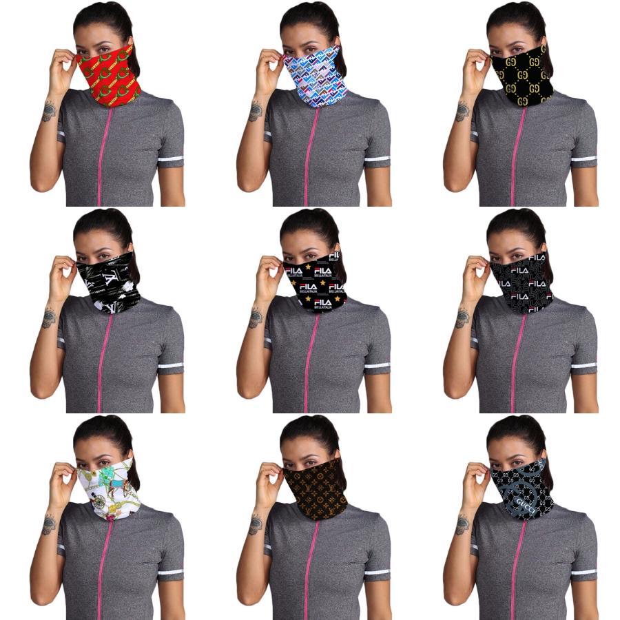 Fashion Designer Stampato sport di pallacanestro foulard unisex anti polvere 100% microfibra di poliestere del collo della maschera di protezione riutilizzabile Sciarpa di stampa # 796