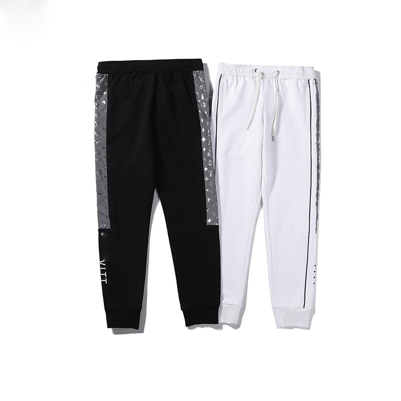 2020 yeni hiphop moda tazeleyici kentsel giysi alt sis ihtiyaçlar çizgili eşofman pantolon