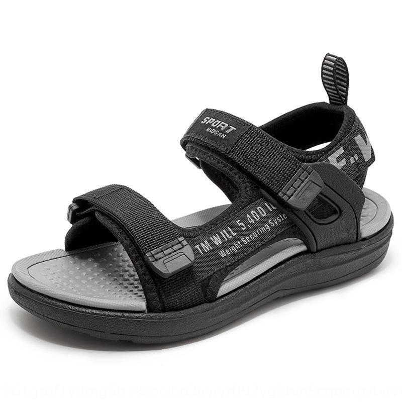 Erkek sandalet 2020 yeni erkek Sandalet çocuk 'orta ve büyük çocuk kaymaz erkek bebek ayakkabıları çocuk ayakkabıları