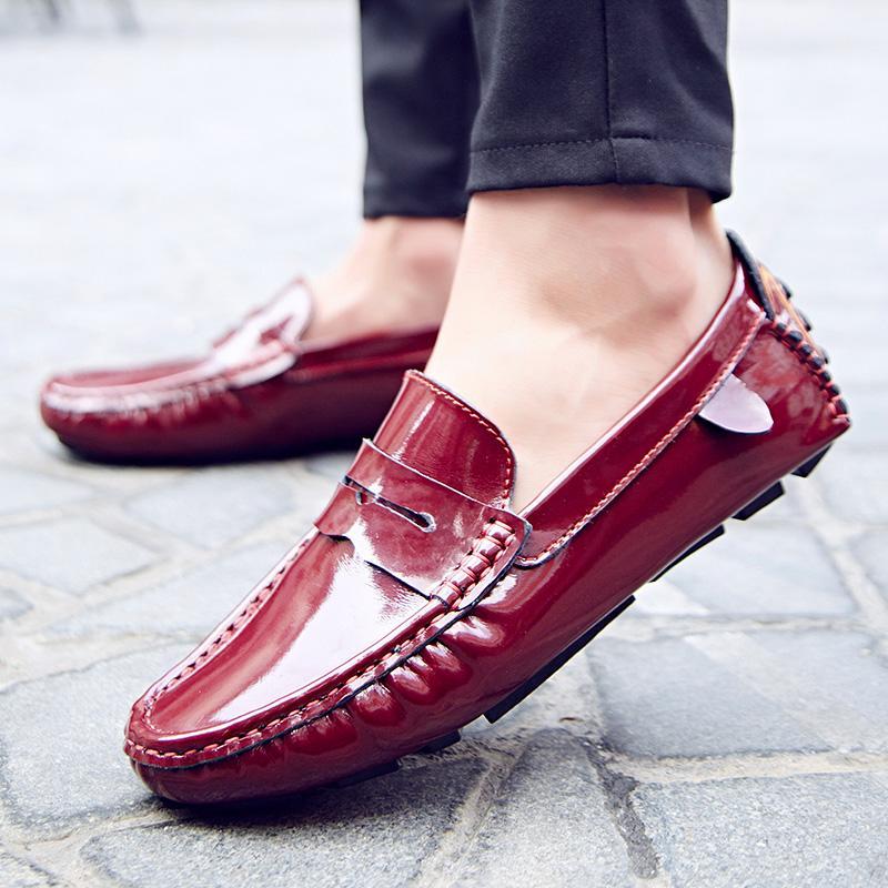 En Penny Loafers Slip On Moccasins