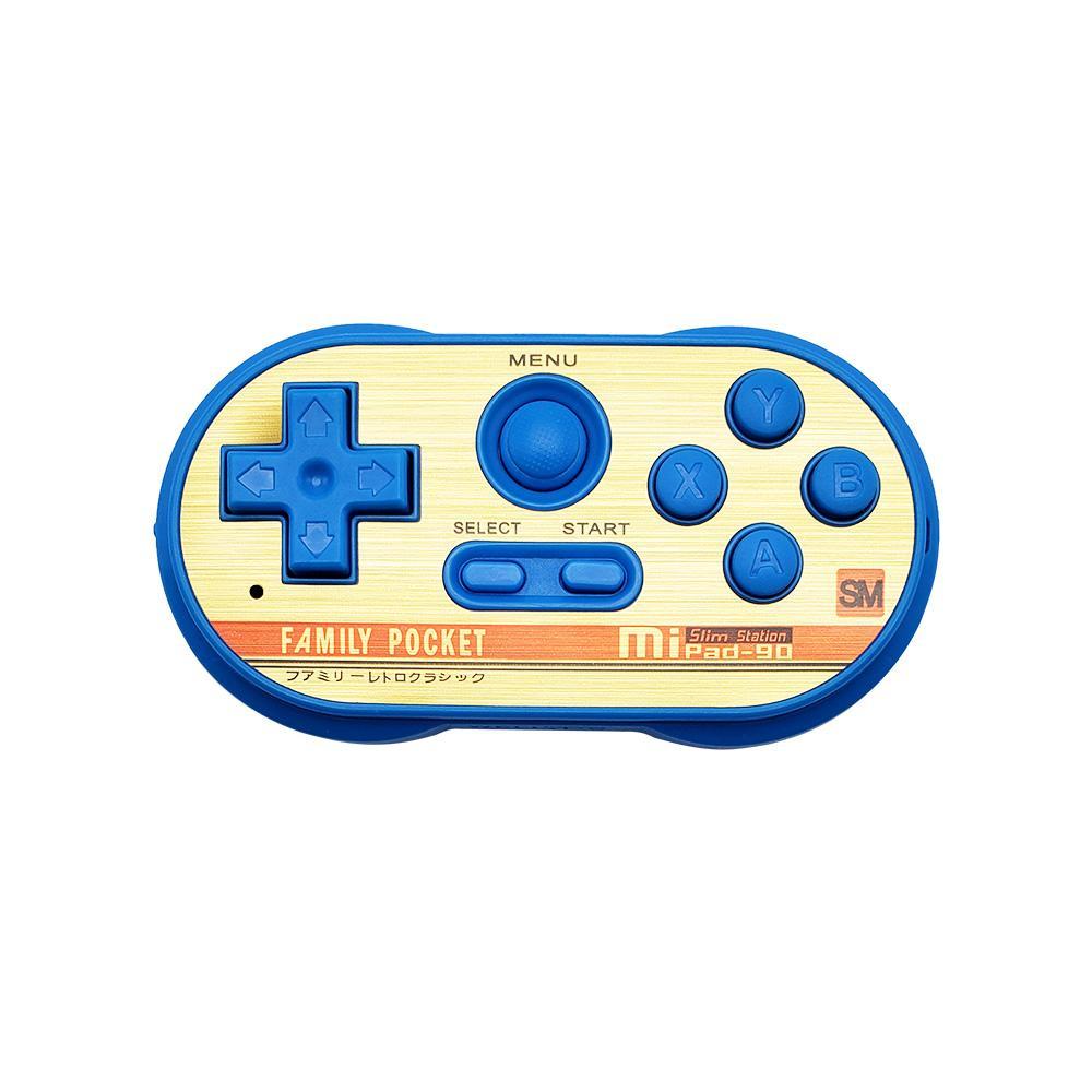 MIPAD 90 SM Mini Spielkonsole Built-in 20 8-Bit NES Spiele Unterstützungs-TV-Ausgang Videospielkonsole Handheld-Game-Spieler für Kinder Kinder