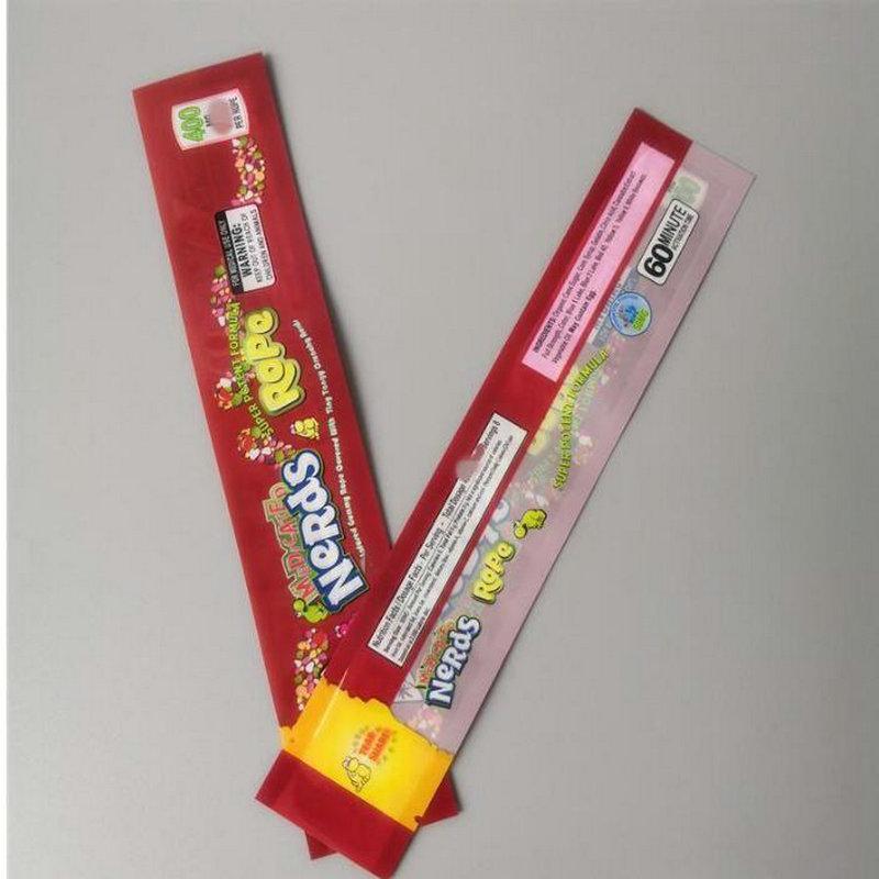 Rotocalco laminato plastico Nerds corda Froggies orso Gummy Candy Bag Imballaggio Sour Mix Frutta Morsi Pacchetto sacchetto di Nerds dbJxS Rope