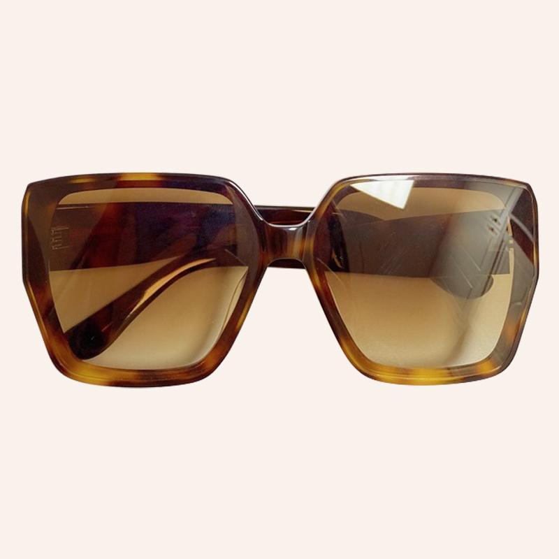 Marke Männer Square Luxus mit Designer UV400 Sonnenbrille Spiegel Gläser Mode High Sun Frauen Qualität Sonnenbrille Übergroße Box APVCU
