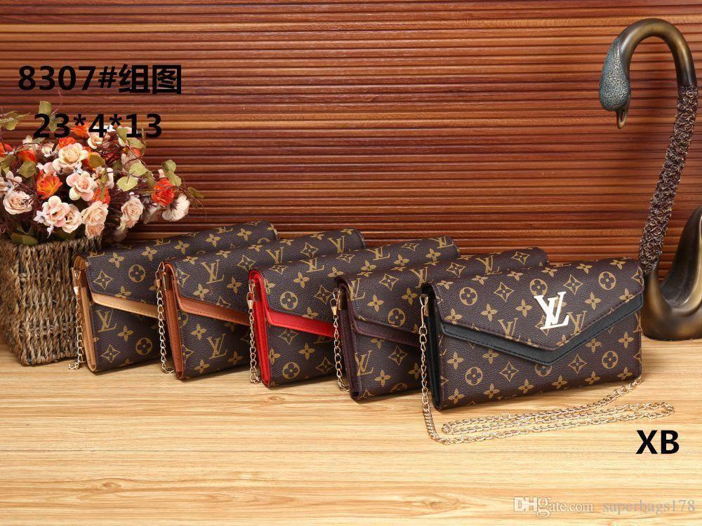 BBB XB 8307 En iyi fiyat Yüksek Kalite kadınlar Bayanlar Tek el çantası taşımak Omuz sırt çantası çanta çanta cüzdan